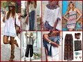 35 Summer Boho Chic Outfit Ideas  - Summer Lookbook 2017