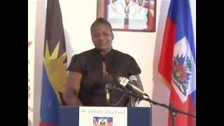 CHTAEF Haiti Project Thank You Antigua and Barbuda