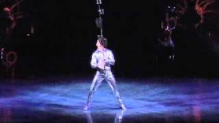 Anthony Gatto performance in Cirque du Soleil's Kooza