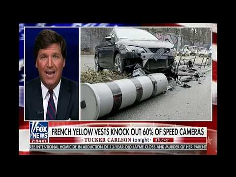 Tucker Carlson - Macron Is Passing Law To Make Protesting Government ILLEGAL - Yellow Vest Protest