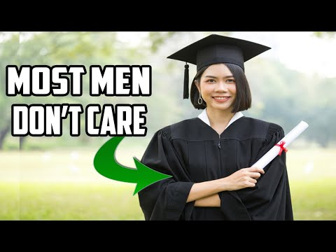 Men Don't Give a Rats About a Woman's Degree, Job or Education...How Do You Look? Are You Virtuous?