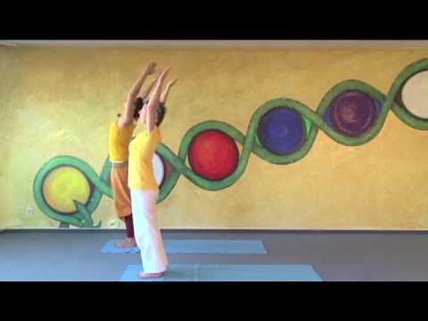 sun salutations for complete beginners  youtube