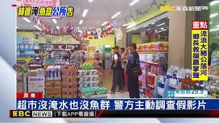 林邊淹到超市魚群亂竄? 網瘋傳影片國外啦!