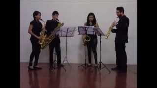 Cuarteto de saxofones 234 - Petit quatour / Cuarteto Latinoamericano
