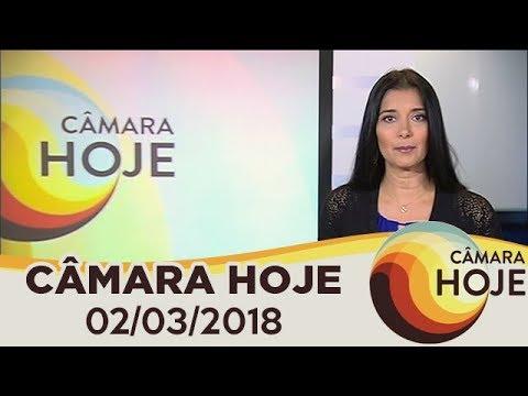 Câmara Hoje -  Bancada feminina inicia programação do Dia Internacional da Mulher | 02/03/2018