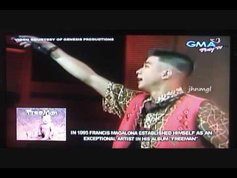 Mga Kababayan Ko - Francis M. LIVE in Araneta!