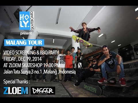 HOLY skateboard tour malang