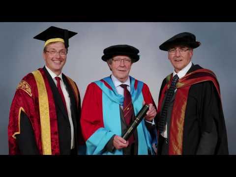 University of Warwick - Honorary Graduate Alan Bond