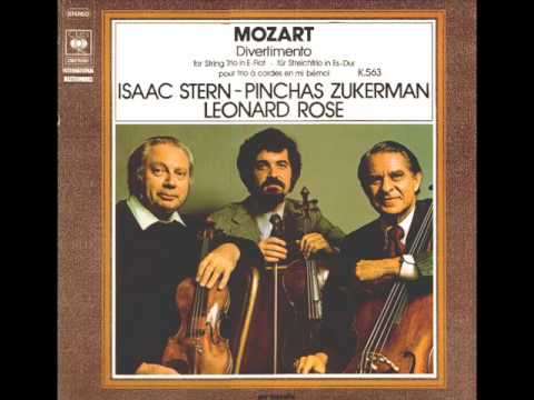 Mozart-Divertimento for String Trio in E-Flat Major  K. 563 (Complete)