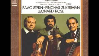 Play Divertimento For Violin, Viola & Cello In E Flat Major, K. 563