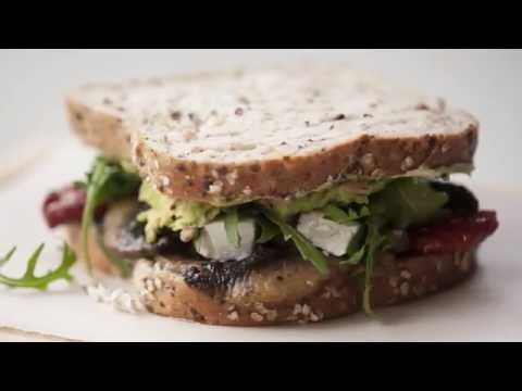 Vegetarian Sandwich - Goodman Fielder Food Service Recipes