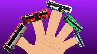 City Bus | Finger Family | Nursery Rhyme