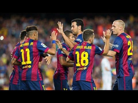 Fc Barcelona Genius Football 2014 2015 Hd Youtube