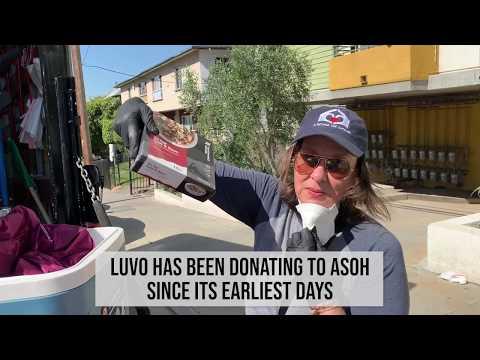 Food Donations - Luvo