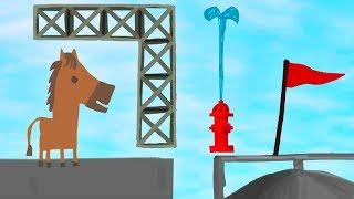 ТЫ НИКОГДА ОДИН ЭТО НЕ ПРОЙДЕШЬ! КОМАНДНОЕ ПРОХОЖДЕНИЕ ПАРКУРА ► Ultimate Chicken Horse (Угар)