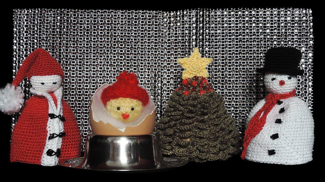 Weihnacht Liche Eierwärmer Häkeln Christmas Eggs Warmer Crochet