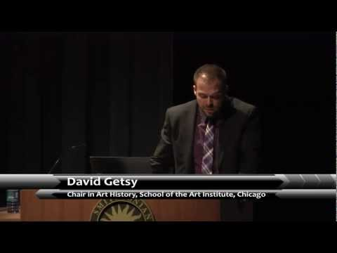 "David Getsy - ""Hide/Seek"" Scholarly Symposium, National Portrait Gallery"