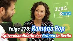 Ramona Pop, Spitzenkandidatin der Grünen zur Wahl in Berlin - Jung & Naiv: Folge 278
