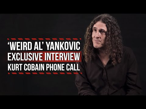 'Weird Al' Yankovic Recalls Kurt Cobain Phone Call