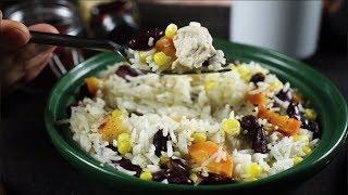 Как приготовить мексиканский рис с красной фасолью и морковью | Простые  рецепты