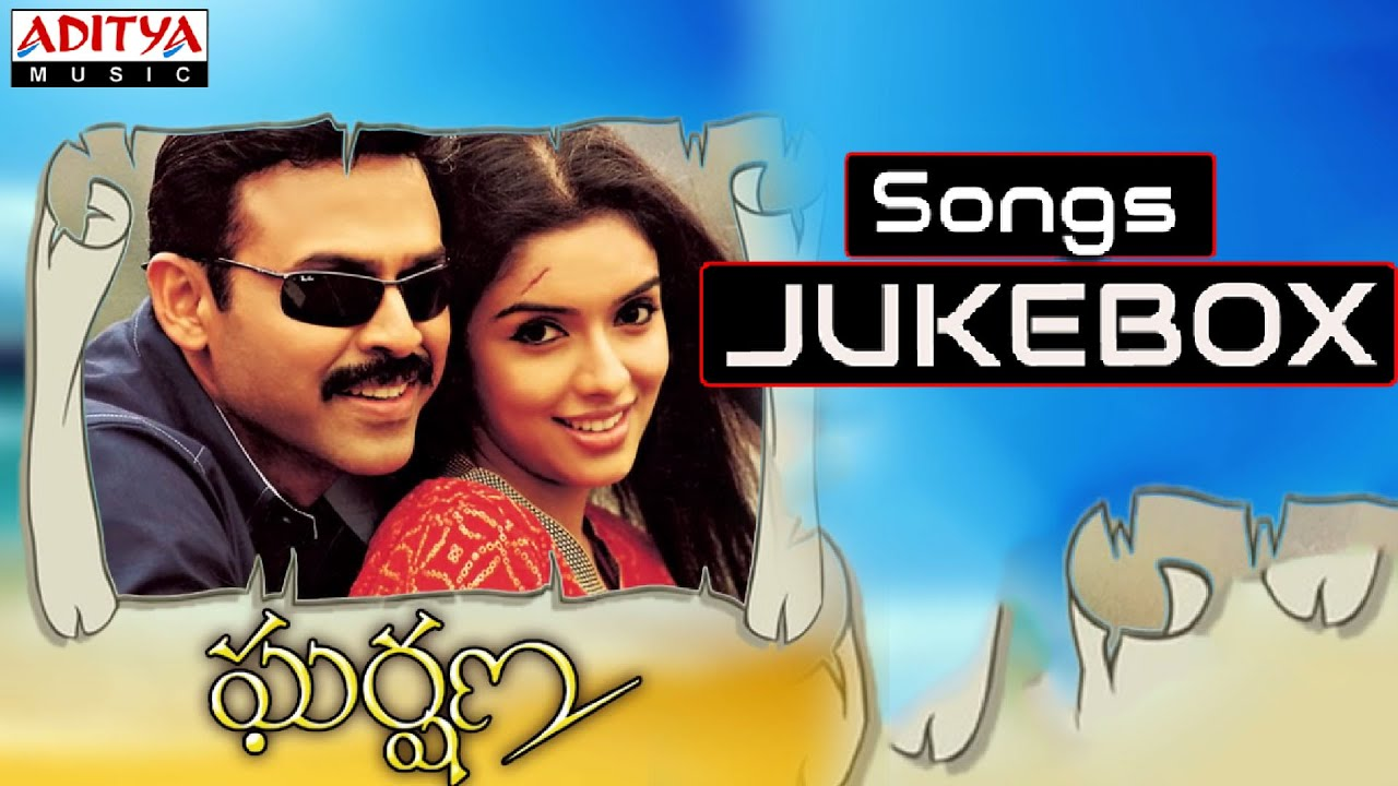 Download Gharshana Telugu Movie Full Songs || Jukebox || Venkatesh,Aasin