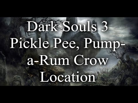 Dark souls 3 pump a rum