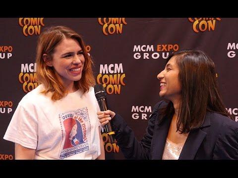 Billie Piper Exclusive Interview @ MCM Birmingham Comic Con 2017