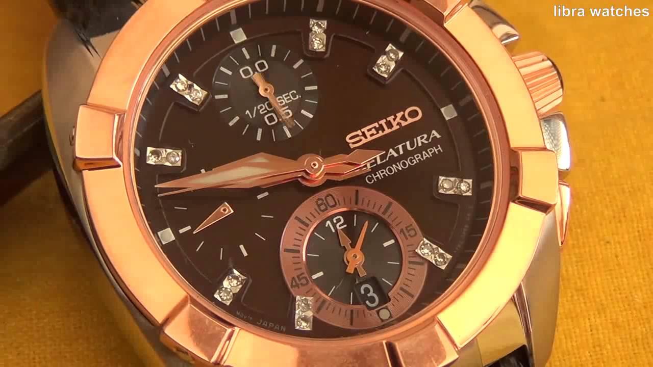 3fa8bfe72 SEIKO VELATURA CHRONOGRAPH CAL. 7T62. libra watches