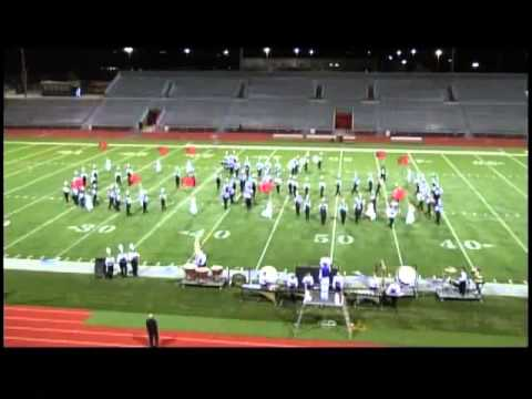 "Muscatine High School Marching Band ""The Planets"" at Five Seasons 2013"