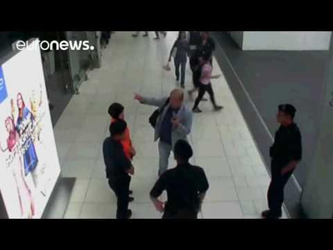 Moment of Kim Jong-Nam attack caught on CCTV, Malaysia