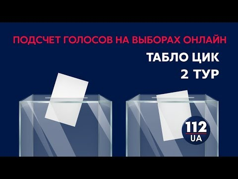 Результаты выборов. Табло