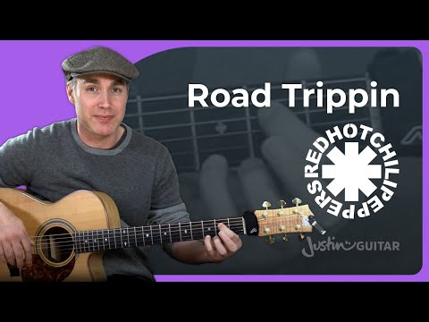 How to play Road Trippin by Red Hot Chili Peppers - Guitar Lesson Tutorial (ST-387) John Frusciante