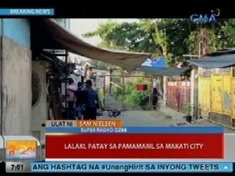 UB: Lalaki, patay sa pamamaril sa Makati City