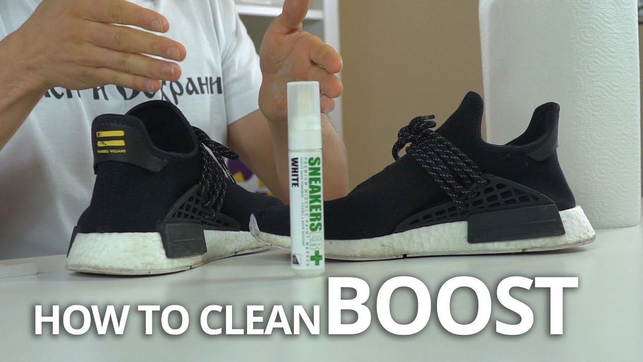 the latest 986c0 3ad24 How To Clean   Restore Your BOOST   adidas Ultra Boost   NMD   ANY BOOST.  The Sole Supplier