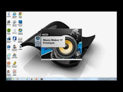 how to download magix music maker 17 (video tutorial HD)