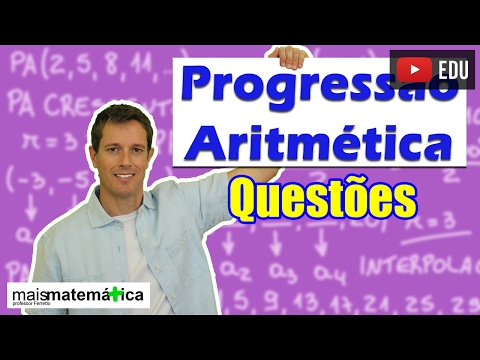 Progressão Aritmética PA: Questões Comentadas - Parte 1