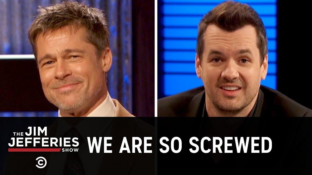 Brad Pitt Is the Jim Jefferies Show Weatherman - The Jim Jefferies Show