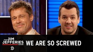 Brad Pitt Is the Jim Jefferies Show Weatherman - The Jim Jefferies Show