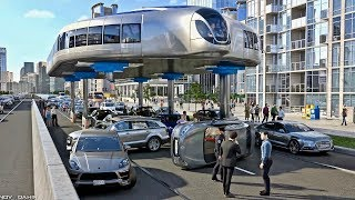Buses That Can Step Over Traffic - Amazing Gyroscopic Transport Concept thumbnail