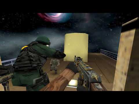 CS 1.6 - World War'Z - BOAT ESCAPE