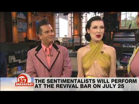 Mentalism team The Sentimentalists amaze on CP24. Fooled Penn and Teller.