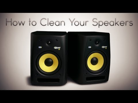 How to Clean Your Speakers