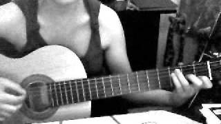 Nevershoutnever, on the brightside, Tutorial,  Gitarre, GUitar, super easy