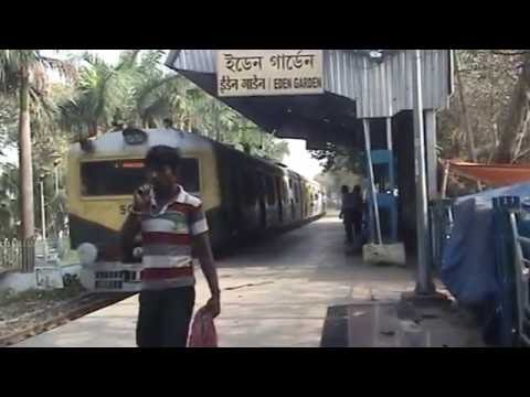 A Train is comming at Eden Garden Station YouTube