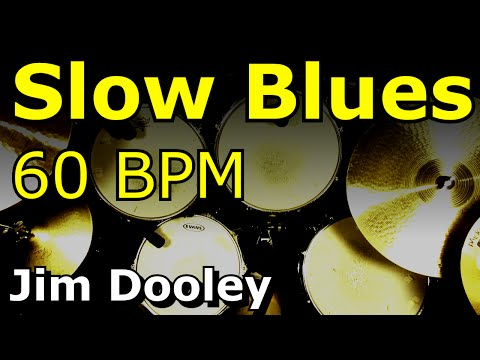 Slow Blues 60 BPM [Drums Only] - YouTube