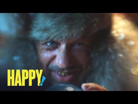 HAPPY! | Unexpected Stocking Stuffer | SYFY
