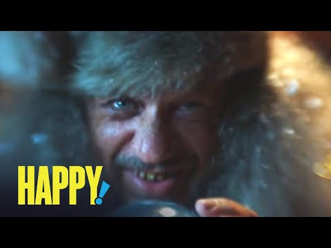 HAPPY! | Unexpected Stocking Stuffer | SYFY from YouTube · Duration:  31 seconds