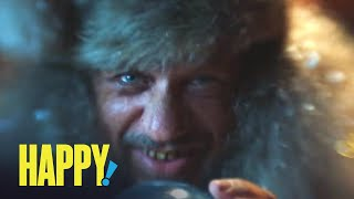 HAPPY! | Unexpected Stocking Stuffer | SYFY
