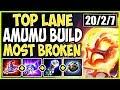 TOP LANE AMUMU SEASON 9 BUILD! MOST BROKEN CHAMPION EVER! TOP Amumu vs Wukong Season 9 Gameplay