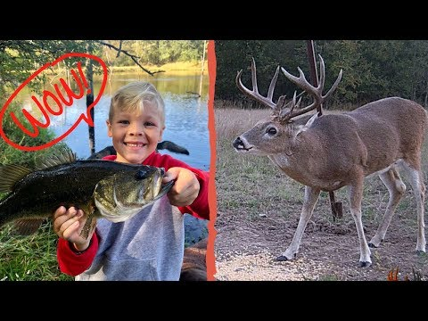 MONSTER BUCK and MONSTER BASS... This Might be the PERFECT Day!